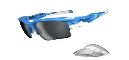 oakleys fast j SHADES: OAKLEYS SKY BLUE FAST JACKETS