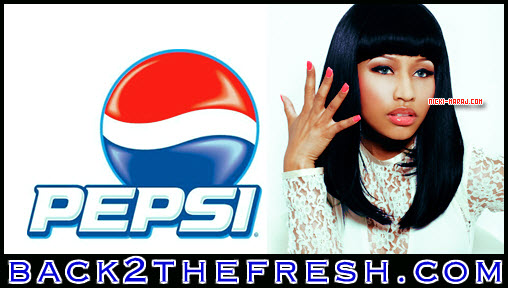 3 22 2012 1 18 16 pm NICKI MINAJ IS THE NEW FACE OF PEPSI POP