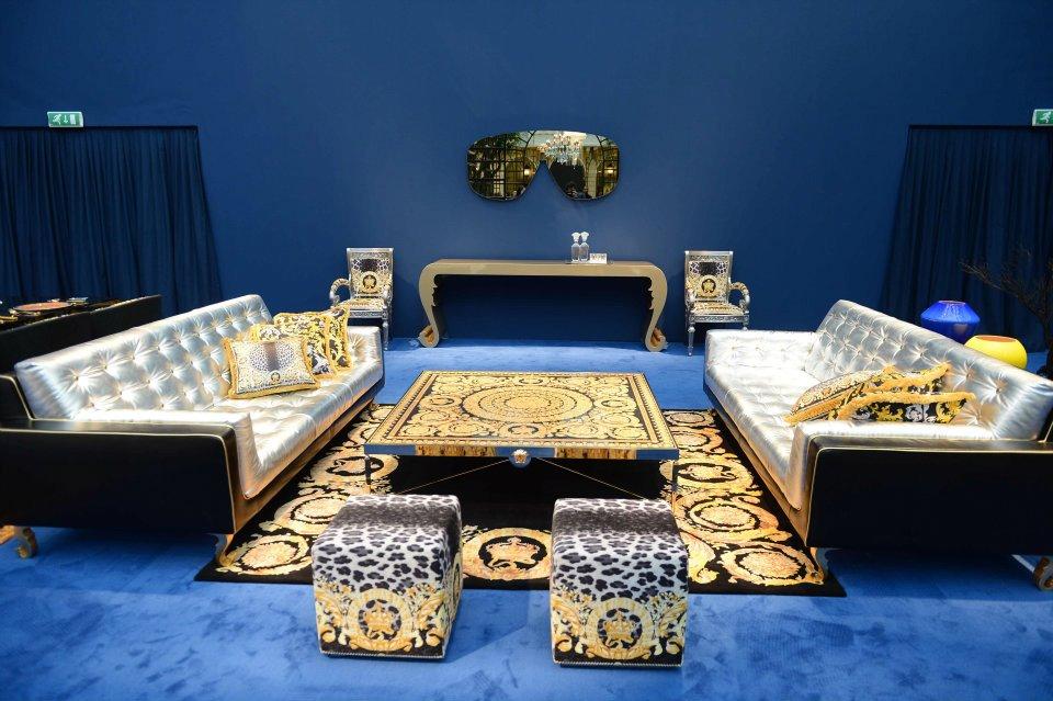 Versace new home collection house of versace design week excalibershine enterprises llc 39 s - Versace living room design ...