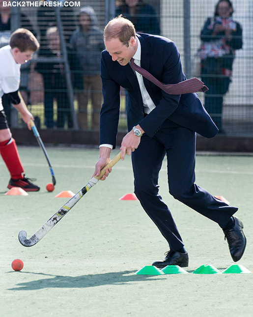 BACK2THEFRESH SINCE 2011 Prince William Playing Hockey