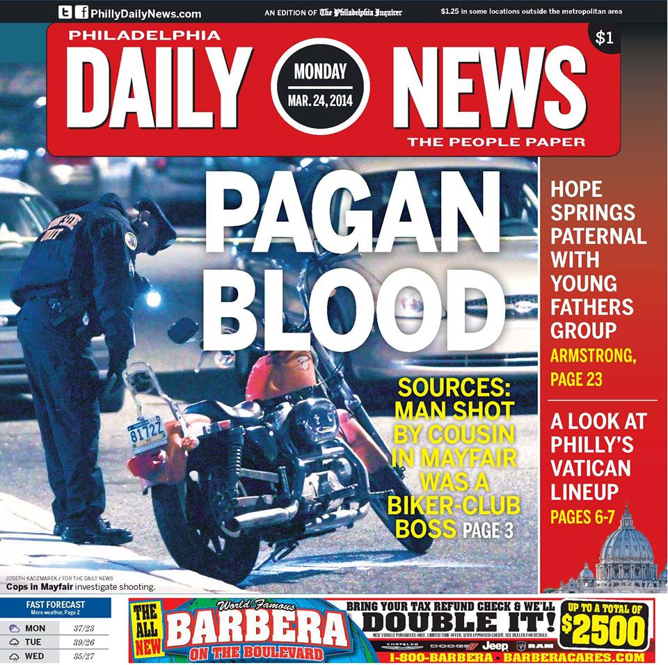 Pagans Motorcycle Club Leader Was Shot By His Cousin – Story By