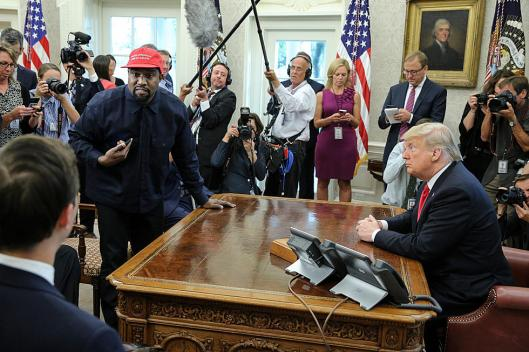 Kanye-West-Donald-Trump-White-House